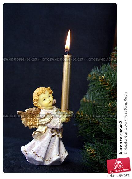 Ангел со свечой, эксклюзивное фото № 99037, снято 16 октября 2007 г. (c) Natalia Nemtseva / Фотобанк Лори