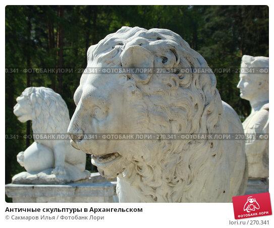 Античные скульптуры в Архангельском, фото № 270341, снято 3 мая 2008 г. (c) Сакмаров Илья / Фотобанк Лори
