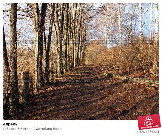 Апрель, фото № 151361, снято 8 апреля 2007 г. (c) Бяков Вячеслав / Фотобанк Лори
