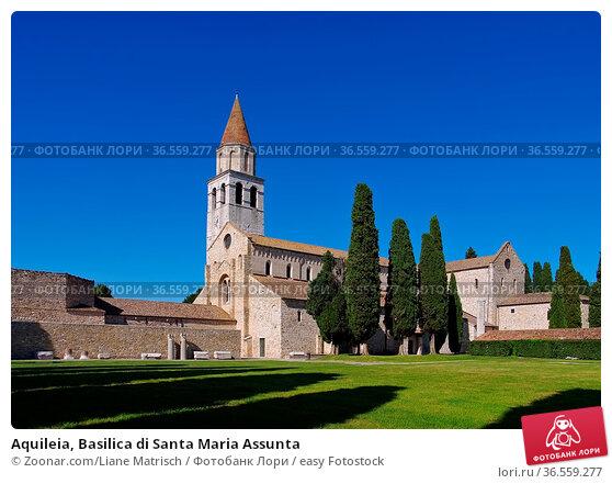 Aquileia, Basilica di Santa Maria Assunta. Стоковое фото, фотограф Zoonar.com/Liane Matrisch / easy Fotostock / Фотобанк Лори