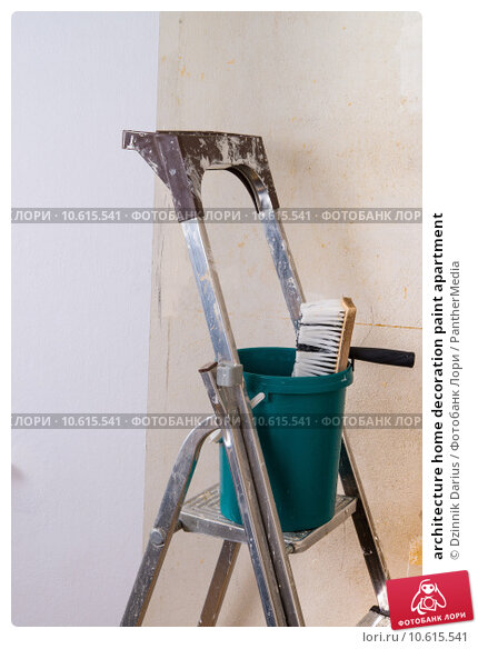 architecture home decoration paint apartment. Стоковое фото, фотограф Dzinnik Darius / PantherMedia / Фотобанк Лори