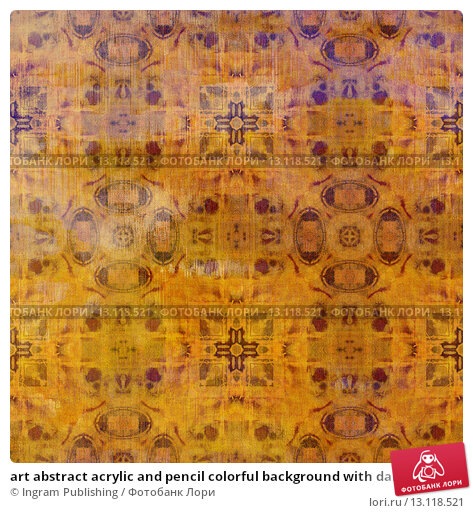 Купить «art abstract acrylic and pencil colorful background with damask pattern in orange and violet colors», фото № 13118521, снято 21 ноября 2019 г. (c) Ingram Publishing / Фотобанк Лори