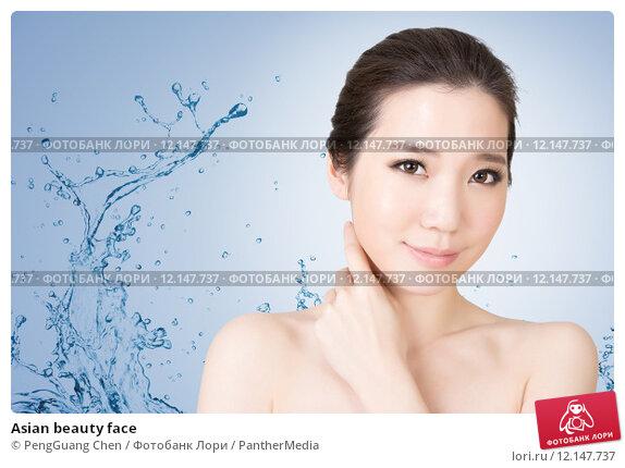 Купить «Asian beauty face», фото № 12147737, снято 23 февраля 2019 г. (c) PantherMedia / Фотобанк Лори