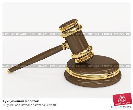 Аукционный молоток, иллюстрация № 285225 (c) Лукиянова Наталья / Фотобанк Лори