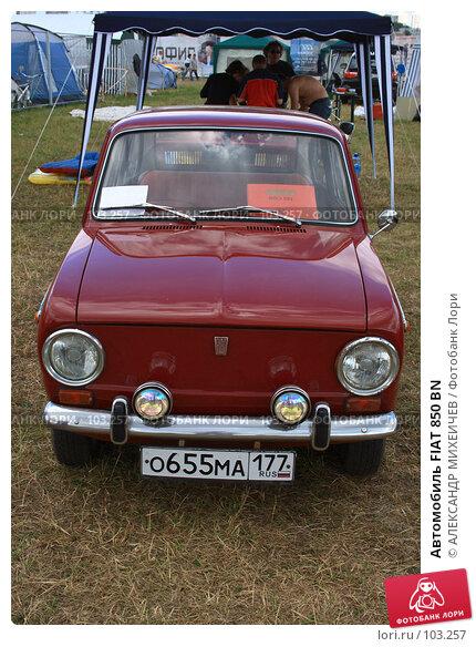 Автомобиль FIAT 850 BN, фото № 103257, снято 24 июля 2017 г. (c) АЛЕКСАНДР МИХЕИЧЕВ / Фотобанк Лори