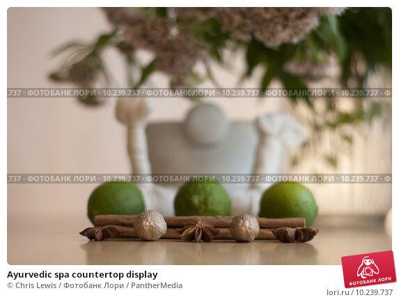 Купить «Ayurvedic spa countertop display», фото № 10239737, снято 26 апреля 2019 г. (c) PantherMedia / Фотобанк Лори