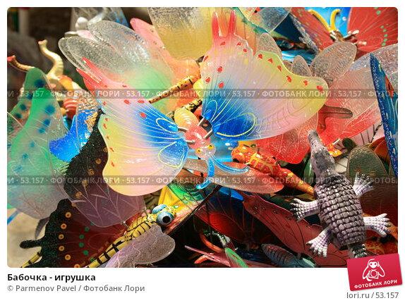 Купить «Бабочка - игрушка», фото № 53157, снято 12 июня 2007 г. (c) Parmenov Pavel / Фотобанк Лори