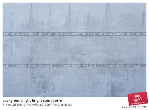 background light bright stone retro. Стоковое фото, фотограф Karsten Ehlers / PantherMedia / Фотобанк Лори