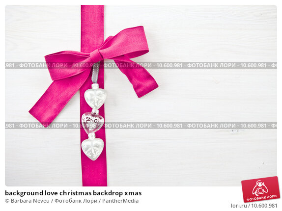 background love christmas backdrop xmas. Стоковое фото, фотограф Barbara Neveu / PantherMedia / Фотобанк Лори