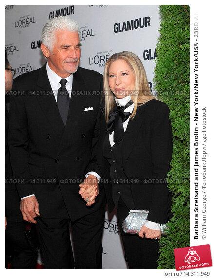 Купить «Barbara Streisand and James Brolin - New York/New York/USA - 23RD ANNUAL GLAMOUR MAGAZINE 2013 WOMEN OF THE YEAR GALA», фото № 14311949, снято 11 ноября 2013 г. (c) age Fotostock / Фотобанк Лори