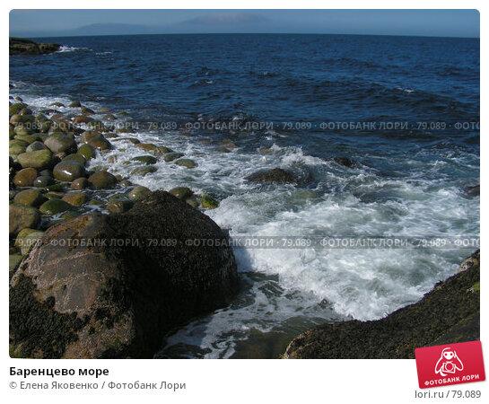 Баренцево море, фото № 79089, снято 10 ноября 2006 г. (c) Елена Яковенко / Фотобанк Лори