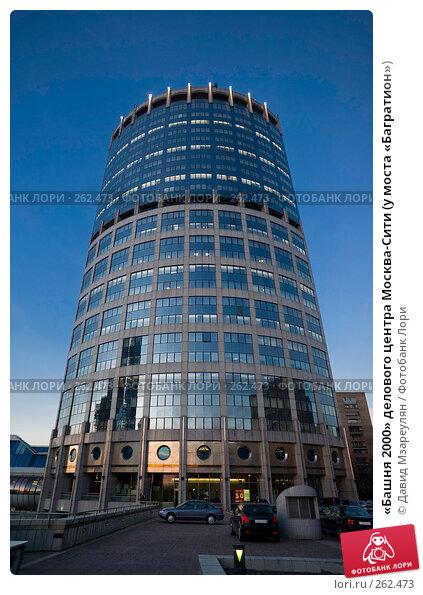 «Башня 2000» делового центра Москва-Сити (у моста «Багратион»), фото № 262473, снято 9 апреля 2008 г. (c) Давид Мзареулян / Фотобанк Лори