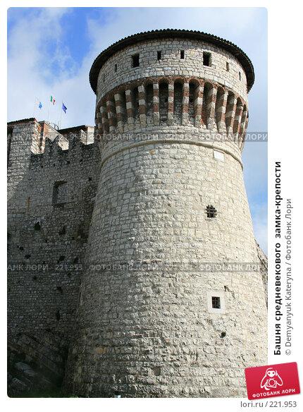 Купить «Башня средневекового  замка-крепости», фото № 221953, снято 11 марта 2008 г. (c) Demyanyuk Kateryna / Фотобанк Лори