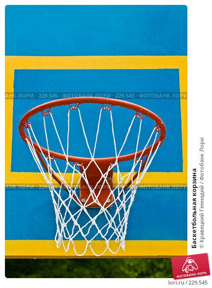 Баскетбольная корзина, фото № 229545, снято 24 мая 2004 г. (c) Кравецкий Геннадий / Фотобанк Лори