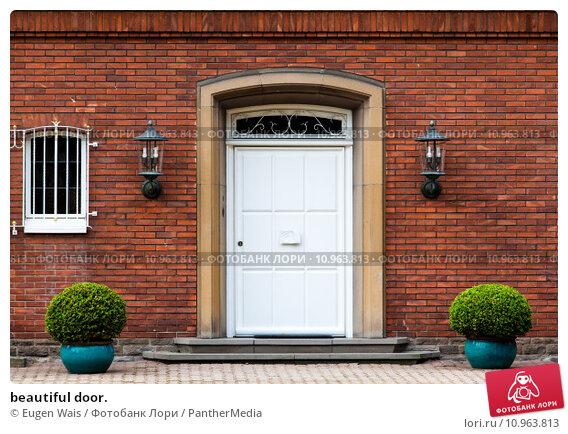 Купить «beautiful door.», фото № 10963813, снято 21 апреля 2019 г. (c) PantherMedia / Фотобанк Лори