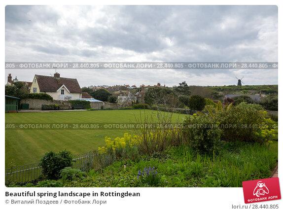 Купить «Beautiful spring landscape in Rottingdean», фото № 28440805, снято 13 апреля 2017 г. (c) Виталий Поздеев / Фотобанк Лори