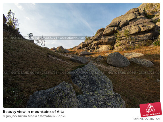 Купить «Beauty view in mountains of Altai», фото № 27387721, снято 10 сентября 2017 г. (c) Jan Jack Russo Media / Фотобанк Лори