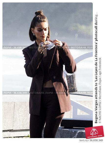 Begona Vargas attends to 'Las Leyes de La Frontera' photocall during... Редакционное фото, фотограф NACHO LOPEZ / age Fotostock / Фотобанк Лори