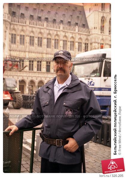 Бельгийский полицейский. г. Брюссель, эксклюзивное фото № 320205, снято 7 декабря 2016 г. (c) Free Wind / Фотобанк Лори
