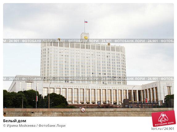 Белый дом, эксклюзивное фото № 24901, снято 8 июля 2006 г. (c) Ирина Мойсеева / Фотобанк Лори