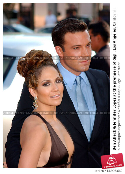 Ben Afleck & Jennifer Lopez at the premiere of Gigli. Los Angeles ...