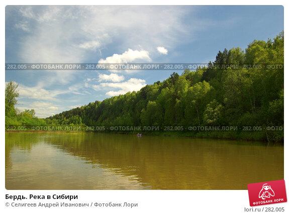 Бердь. Река в Сибири, фото № 282005, снято 10 июня 2007 г. (c) Селигеев Андрей Иванович / Фотобанк Лори