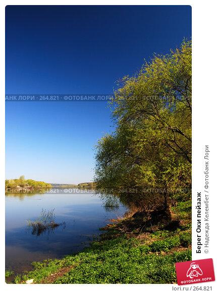 Берег Оки пейзаж, фото № 264821, снято 26 апреля 2008 г. (c) Надежда Келембет / Фотобанк Лори
