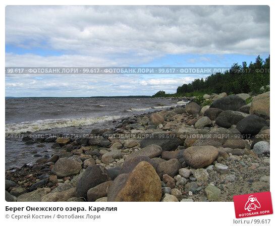 Берег Онежского озера. Карелия, фото № 99617, снято 5 июля 2006 г. (c) Сергей Костин / Фотобанк Лори
