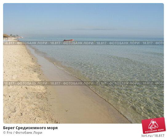 Берег Средиземного моря, фото № 18817, снято 26 июня 2004 г. (c) Fro / Фотобанк Лори