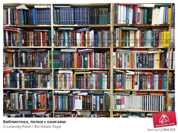 Библиотека, полки с книгами, фото № 2864029, снято 3 июля 2017 г. (c) Losevsky Pavel / Фотобанк Лори
