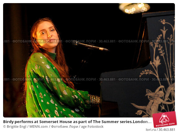 Birdy performs at Somerset House as part of The Summer series.London... (2017 год). Редакционное фото, фотограф Brigitte Engl / WENN.com / age Fotostock / Фотобанк Лори