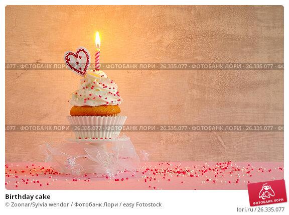 Купить «Birthday cake», фото № 26335077, снято 21 марта 2018 г. (c) easy Fotostock / Фотобанк Лори
