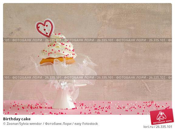 Купить «Birthday cake», фото № 26335101, снято 23 апреля 2018 г. (c) easy Fotostock / Фотобанк Лори