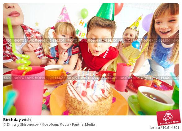 Birthday wish. Стоковое фото, фотограф Dmitriy Shironosov / PantherMedia / Фотобанк Лори
