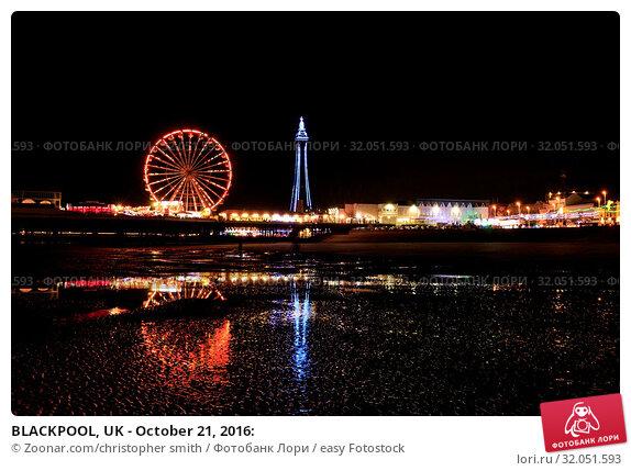 BLACKPOOL, UK - October 21, 2016: Стоковое фото, фотограф Zoonar.com/christopher smith / easy Fotostock / Фотобанк Лори