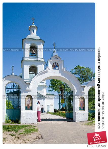 Благовещения Пресвятой Богородицы церковь, фото № 56529, снято 20 мая 2007 г. (c) urchin / Фотобанк Лори