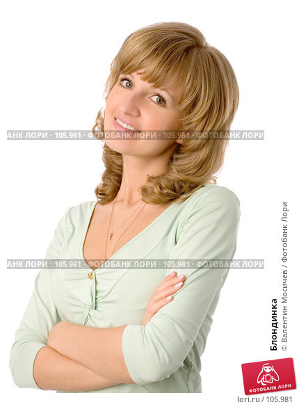 Блондинка, фото № 105981, снято 26 мая 2007 г. (c) Валентин Мосичев / Фотобанк Лори