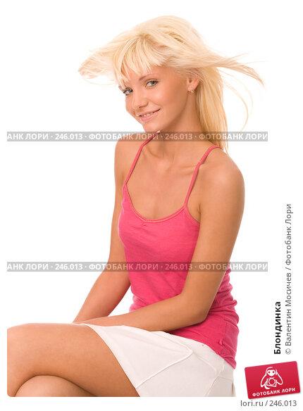Купить «Блондинка», фото № 246013, снято 6 апреля 2008 г. (c) Валентин Мосичев / Фотобанк Лори