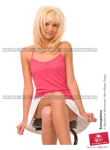 Купить «Блондинка», фото № 286477, снято 6 апреля 2008 г. (c) Валентин Мосичев / Фотобанк Лори