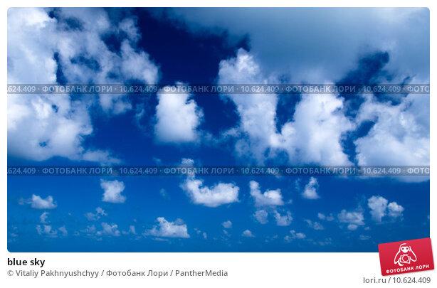blue sky . Стоковое фото, фотограф Vitaliy Pakhnyushchyy / PantherMedia / Фотобанк Лори
