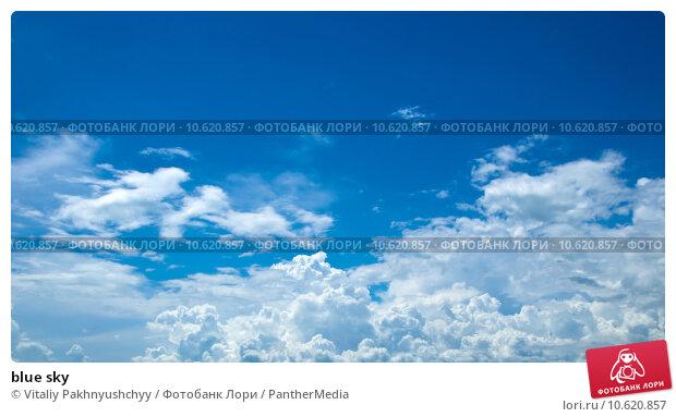 blue sky. Стоковое фото, фотограф Vitaliy Pakhnyushchyy / PantherMedia / Фотобанк Лори