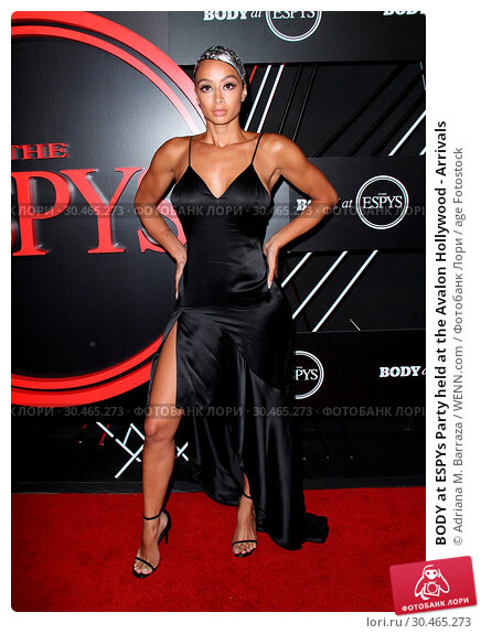 BODY at ESPYs Party held at the Avalon Hollywood - Arrivals (2017 год). Редакционное фото, фотограф Adriana M. Barraza / WENN.com / age Fotostock / Фотобанк Лори