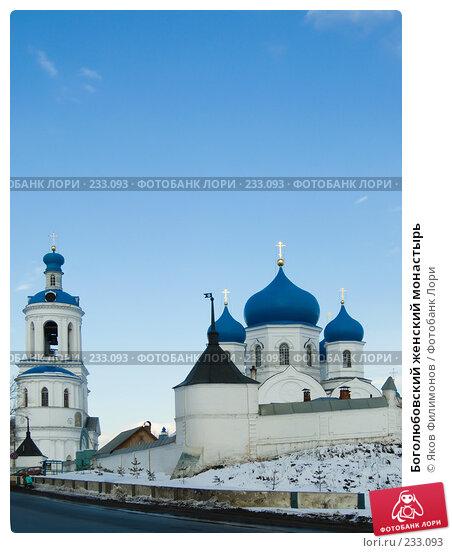 Боголюбовский женский монастырь, фото № 233093, снято 21 марта 2008 г. (c) Яков Филимонов / Фотобанк Лори
