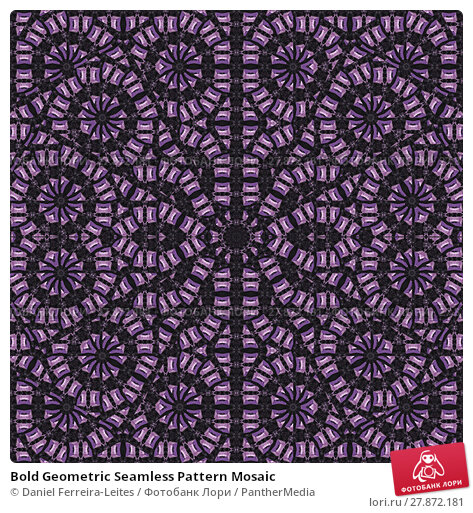 Купить «Bold Geometric Seamless Pattern Mosaic», фото № 27872181, снято 20 октября 2018 г. (c) PantherMedia / Фотобанк Лори