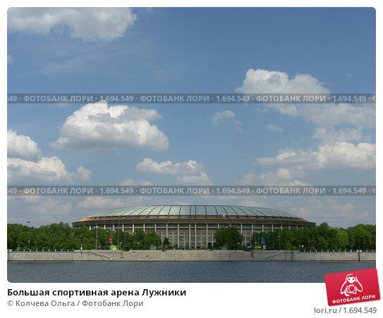Купить «Большая спортивная арена Лужники», фото № 1694549, снято 11 мая 2010 г. (c) Колчева Ольга / Фотобанк Лори