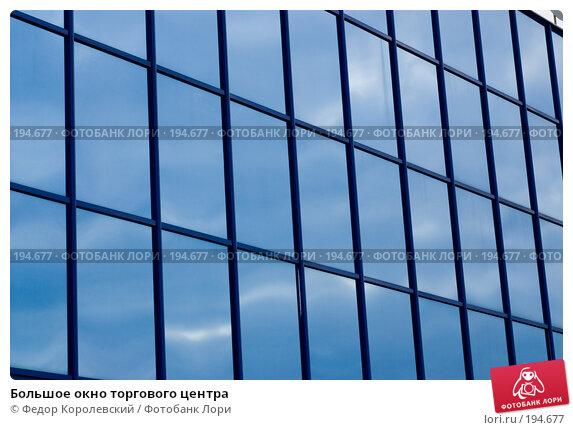 Большое окно торгового центра, фото № 194677, снято 2 февраля 2008 г. (c) Федор Королевский / Фотобанк Лори