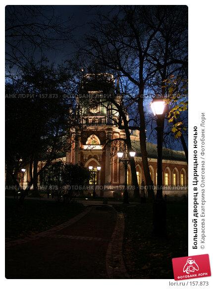 Большой дворец в Царицыно ночью, фото № 157873, снято 10 октября 2007 г. (c) Карасева Екатерина Олеговна / Фотобанк Лори
