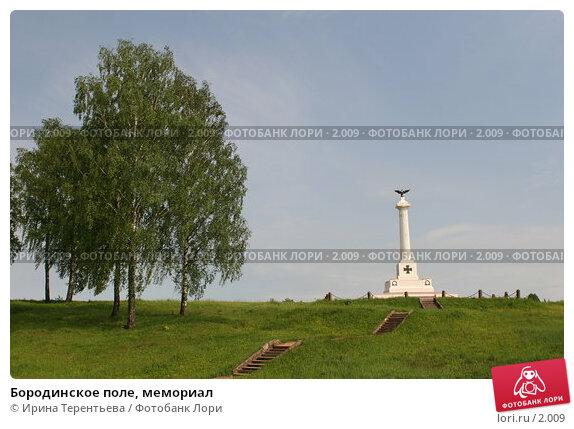 Бородинское поле, мемориал, эксклюзивное фото № 2009, снято 29 мая 2005 г. (c) Ирина Терентьева / Фотобанк Лори