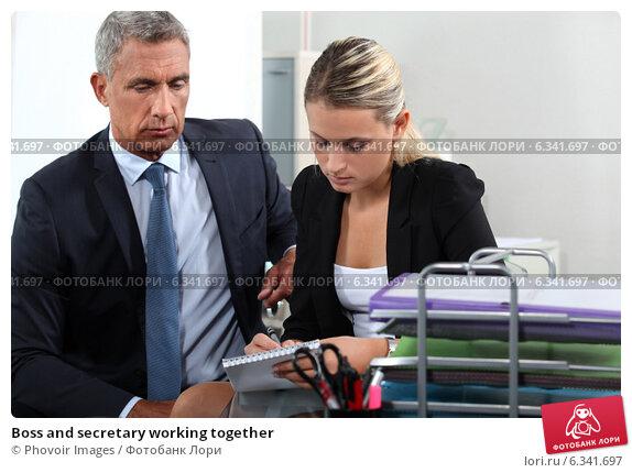 Босс и секретарь