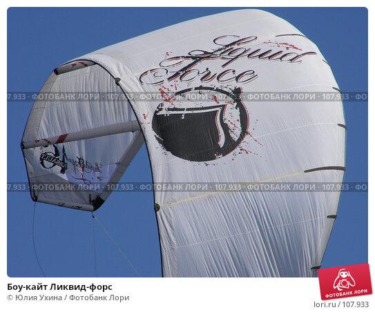 Боу-кайт Ликвид-форс, фото № 107933, снято 19 августа 2007 г. (c) Юлия Ухина / Фотобанк Лори
